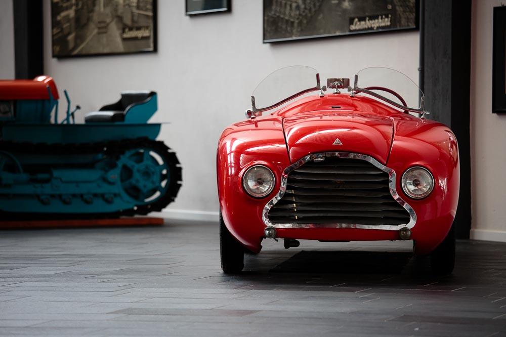 Barchetta F. Lamborghini Museum - Exhibition Space