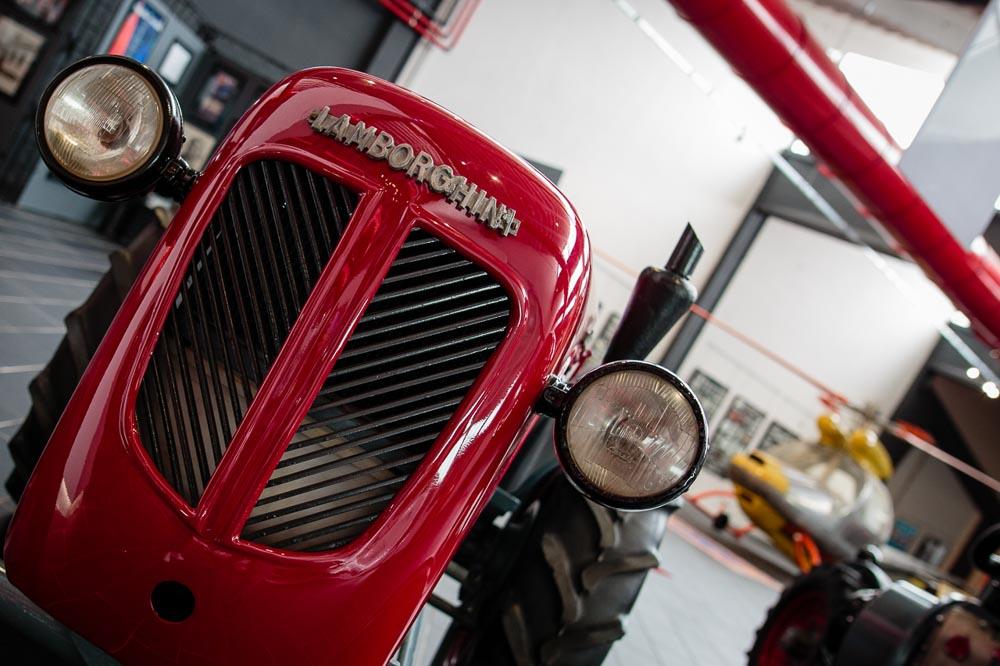 Lamborghini Tractor at F. Lamborghini Museum