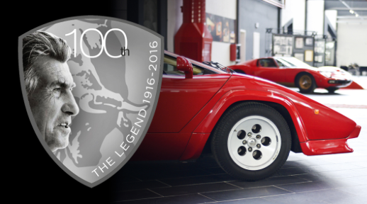 100th anniversary at Ferruccio Lamborghini Museum