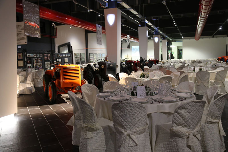 Incentive Events at F. Lamborghini Museum