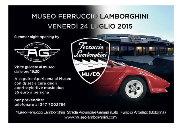 F. LamborghinI Museum - Tours 2015