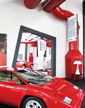 Ferruccio Lamborghini Museum - Details