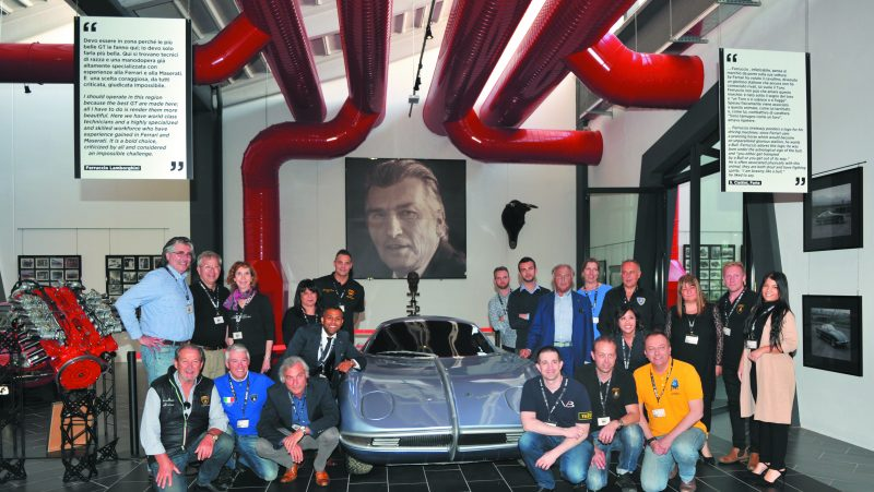 F. Lamborghini Museum - Group Photo