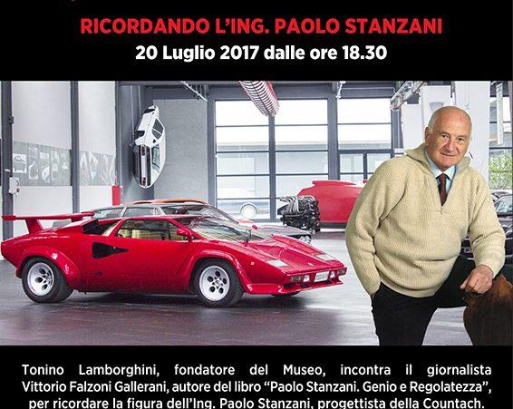 Ricordando l'ing. Stanzani - Museo Ferruccio Lamborghini