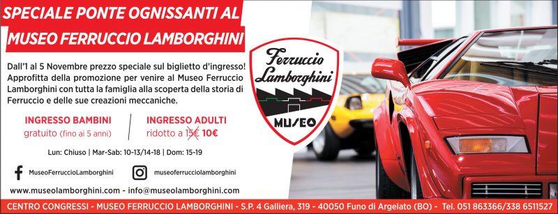 Speciale Ponte Ognissanti al Museo Ferruccio Lamborghini