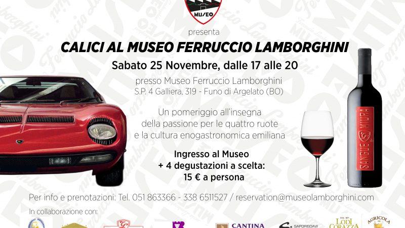 Calici al Museo Ferruccio Lamborghini 2017