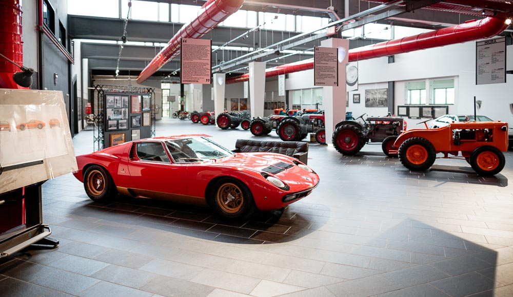 F. Lamborghini Museum - Exhibition Space