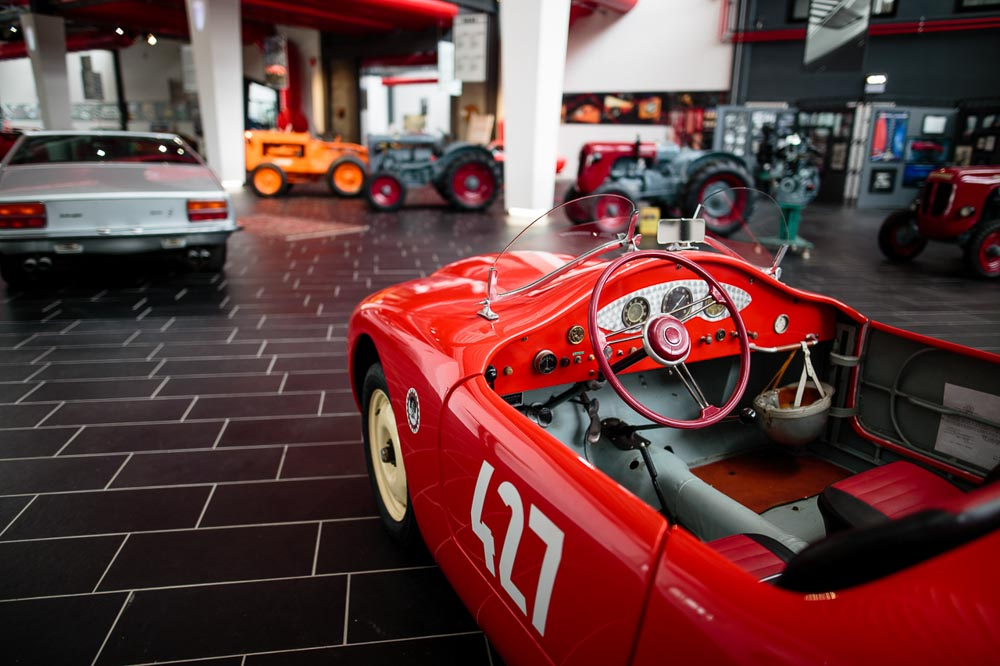 Barchetta at F. Lamborghini Museum
