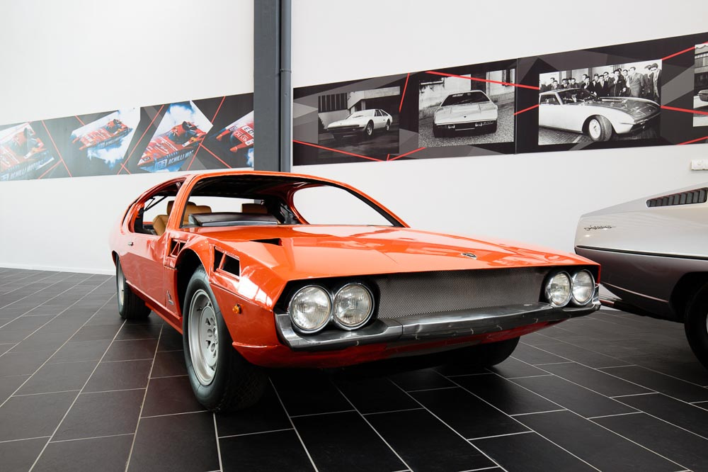 Espada at F. Lamborghini Museum - Exhibition Space