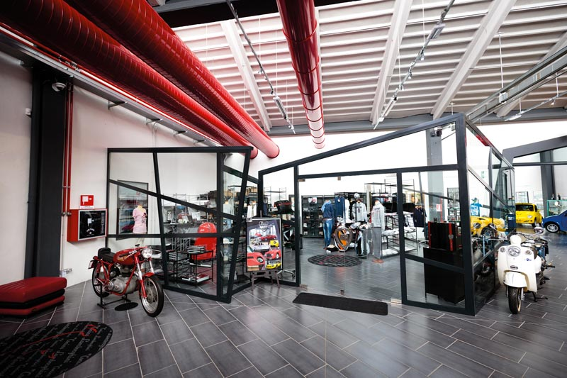 F. Lamborghini Museum Gadget Store