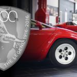 100th anniversary at Ferruccio Lamborghini Museum