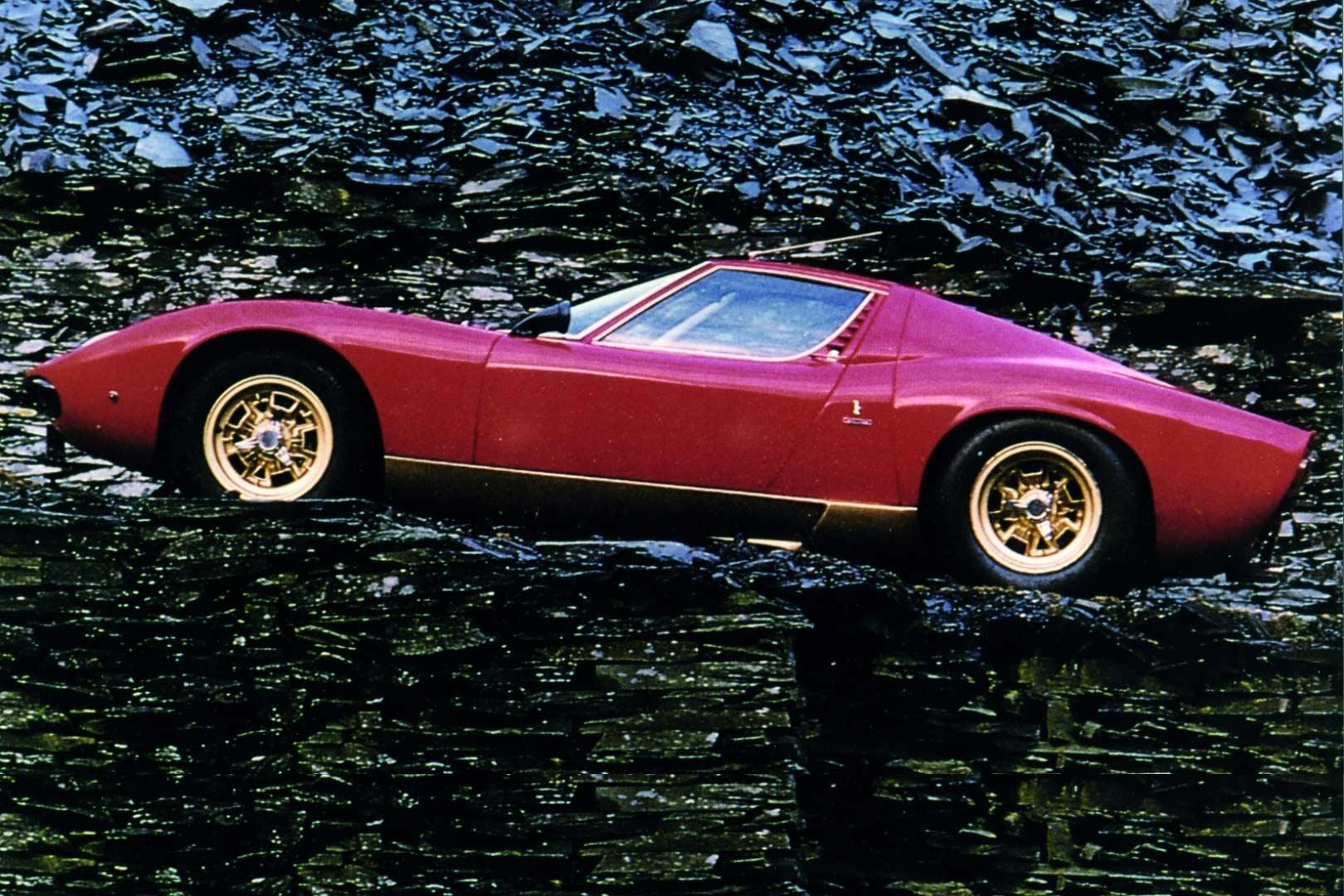 Ferruccio Lamborghini Miura