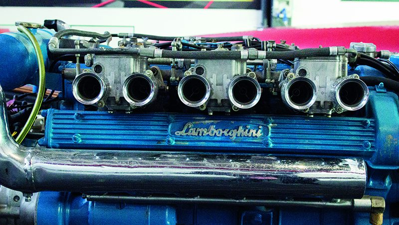 Lamborghini Engine Detail - Lamborghini Museum