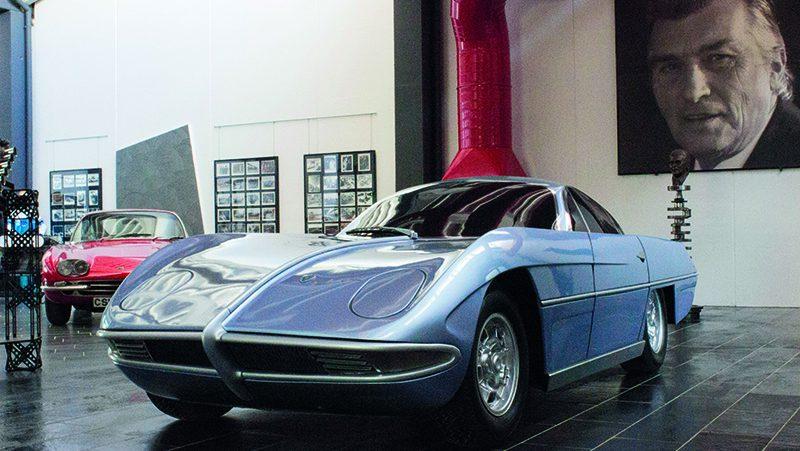 Lamborghini Concept Car at F. Lamborghini Museum
