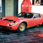Ferruccio's Miura at F. Lamborghini Museum