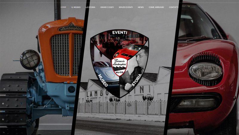 Ferruccio Lamborghini Museum Site Enter
