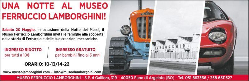 Notte al Museo Ferruccio Lamborghini