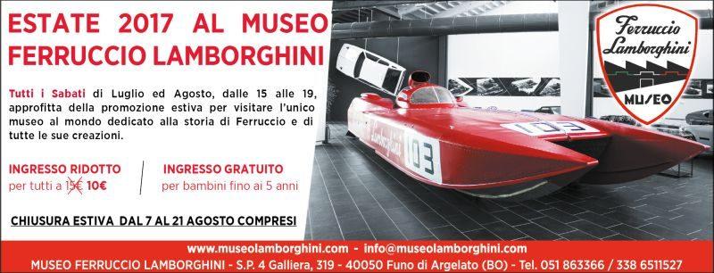 Estate 2017 al Museo Ferruccio Lamborghini