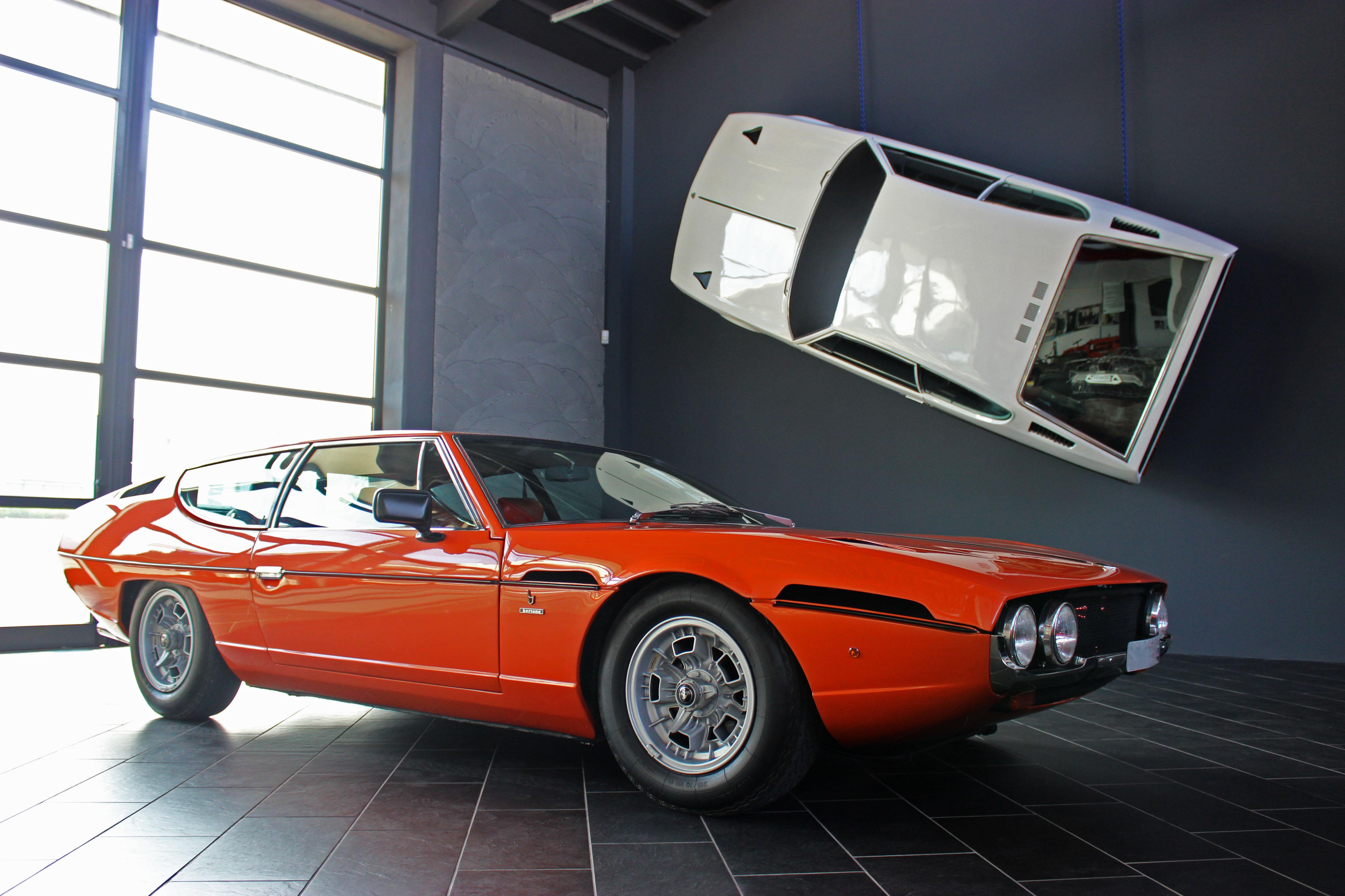 Lamborghini Espada Vip At Ferruccio Lamborghini Museum Ferruccio