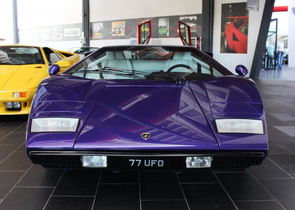 Countach Lp400 Periscopica At The Ferruccio Lamborghini Museum