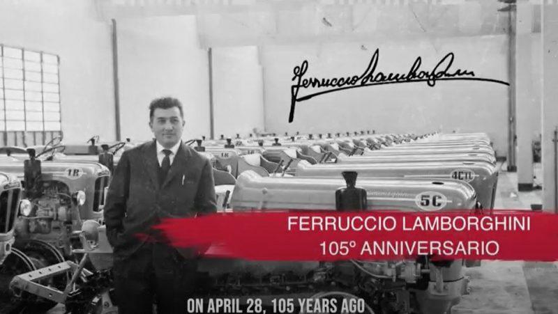 105 Anniversario Ferruccio Lamborghini